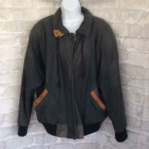 Vintage Brandon Thomas Womens Bomber Jacket